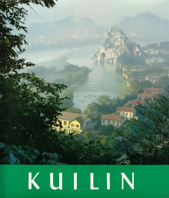 Kulin, Guilin (China), Reisebildband, 1978, Texte in Spanisch, Beilagen