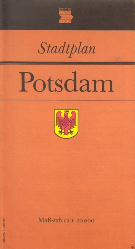 Stadtplan, Potsdam, 1988, 12. Aufl.