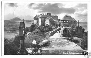 Ansichtskarte, Rechberg, Ruine Rechberg, 1952