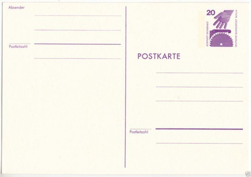 Ganzsache, Postkarte, Michel, Berlin P94, **