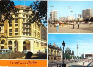 Ansichtskarte, Berlin Mitte, Gruß aus Berlin, drei Abb., 1988