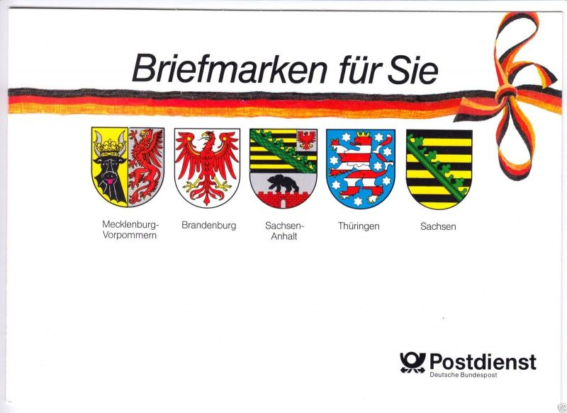 Briefmarken-Geschenkheft Mi.-Nr. BRD GH1, 10 x 1390 **