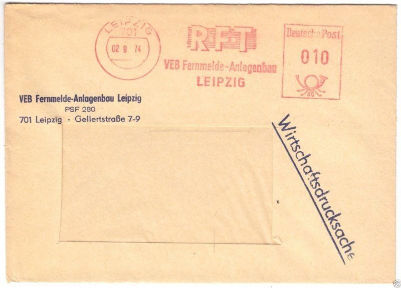 AFS, RFT, VEB Fernmelde-Anlagenbau Leipzig, Leipzig, 701, 02 9.74