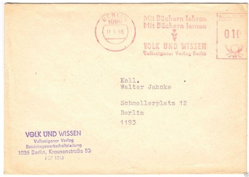 AFS, Verlag Volk und Wissen, Berlin, 1080, 11.6.86