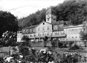 Ansichtskarte, Bad Blankenburg Thür., Ferienheim der IG Wismut,