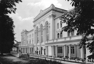 Ansichtskarte, Schönebeck Elbe, Volksbad Salzelmen, Kurhaus, 1963
