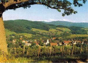 Ansichtskarte, Merzhausen bei Freiburg, Gesamtansicht, 1991