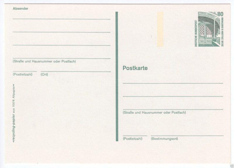Ganzsache, Mi.-Nr. BRD P150, **