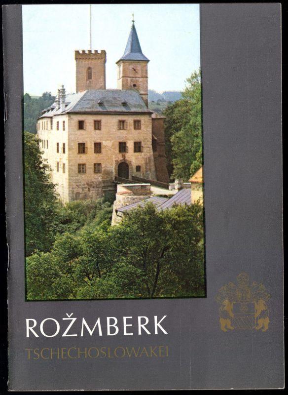 Tour. Broschüre, Rožmberk, Tschechien, 1987