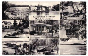 Ansichtskarte, Malente-Gremsmühlen, neun Abb., 1963