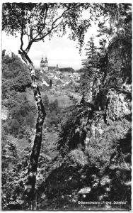 Ansichtskarte, Gössweinstein, Teilansicht, um 1964