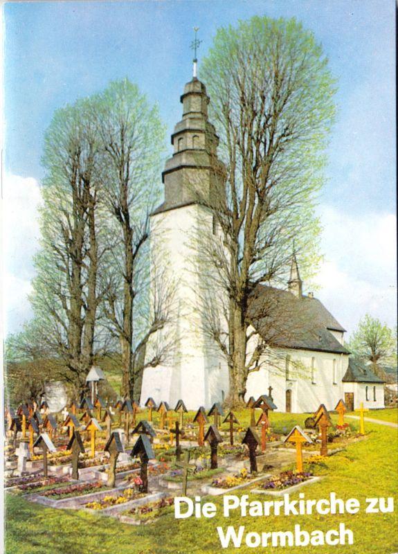 Die Pfarrkirche St. Peter und Paul in Wormbach, um 2000