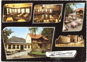Ansichtskarte, Königslutter Elm, Waldgaststätte Lutterspring, 1977