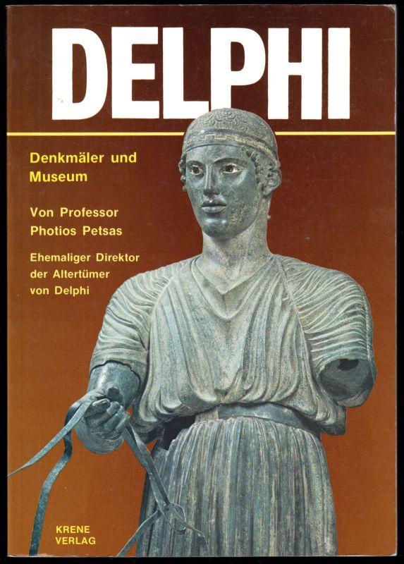 Tour. Broschüre, Delphi - Denkmäler und Museum, 1981