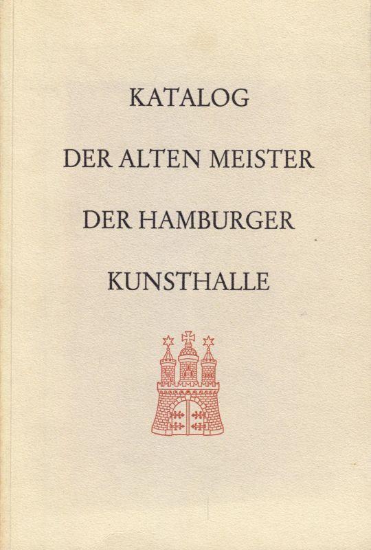 Katalog der alten Meister der Hamburger Kunsthalle, 1966