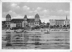 Ansichtskarte, Binz auf Rügen, Blick zum Kurhaus, 1951