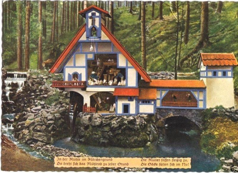 Ansichtskarte, Bad Sachsa Südharz, Märchengrund,