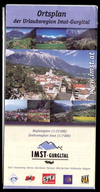 Ortsplan der Urlauberregion Imst-Gurgltal, 2005
