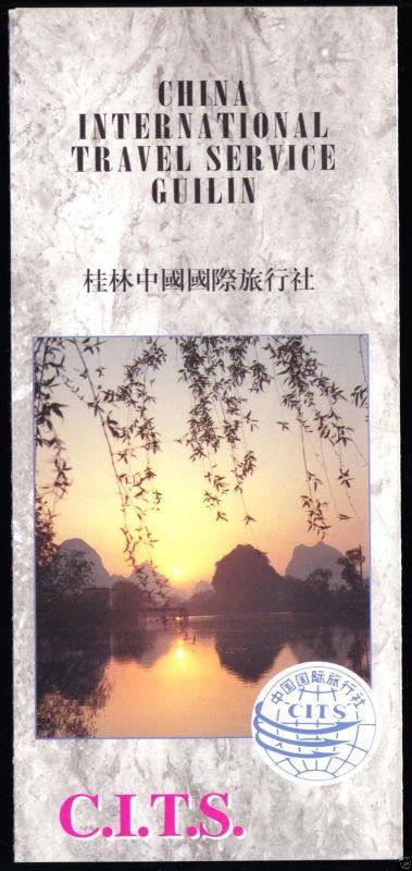 Prospekt, China, Guilin, China International Travel Service Guilin, um 1998