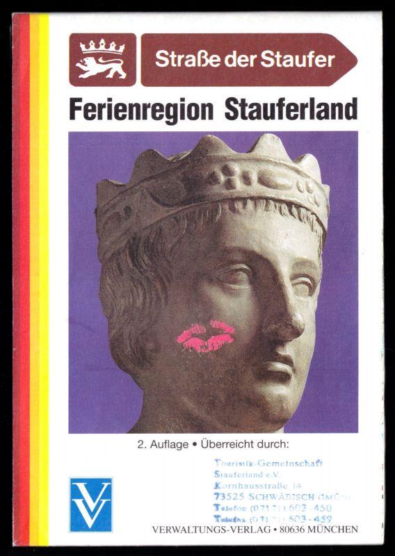 Tour. Prospekt mit Übersichtskarte, Ferienregion Stauferland, um 2000
