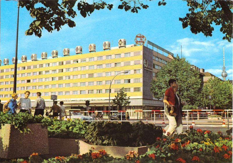 Ansichtskarte, Berlin Mitte, Interhotel
