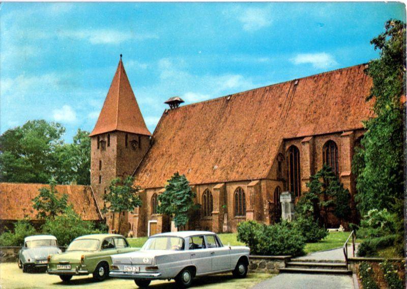Ansichtskarte, Ebstorf, Klosterkirche, 1973