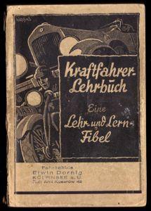 Martini, B.; Kraftfahrerlehrbuch, 57 Auflage, 1951
