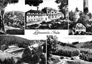 Ansichtskarte, Lobenstein Thür., fünf Abb., 1976
