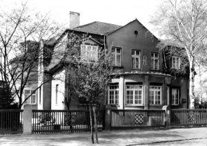 Ansichtskarte, Bad Schmiedeberg, Dübener Heide, Haus