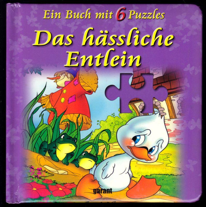 Kinder-Pappbuch mit 6 Puzzles