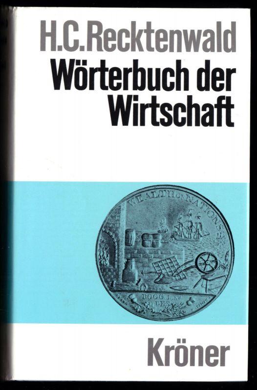 Recktenwald, Horst Claus; Wörterbuch der Wirtschaft, 1990