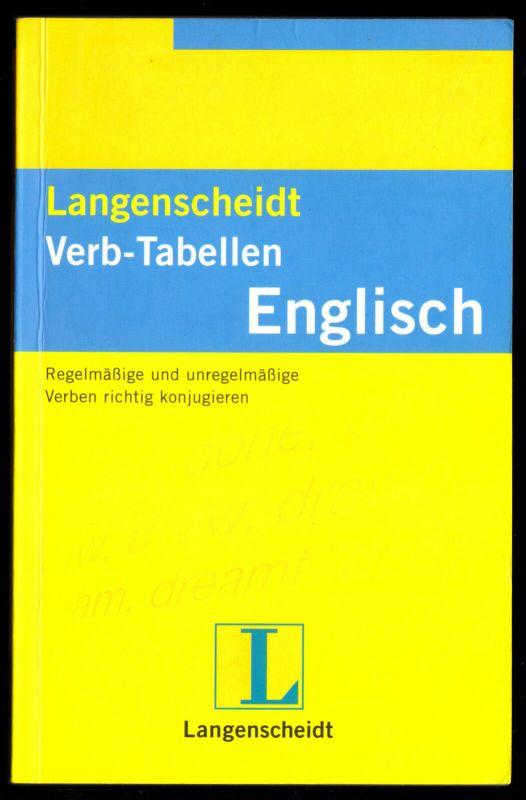 Langenscheidt, Verb-Tabellen, Englisch, 2006