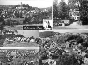 Ansichtskarte, Lobenstein Thür., fünf Abb., 1986