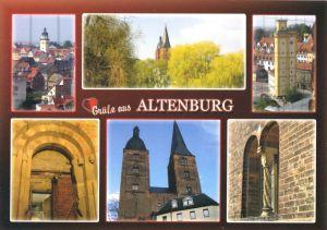 Ansichtskarte, Altenburg, sechs Abb., um 2005