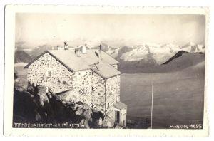Ansichtskarte, Tirol, Ötztaler Alpen, Brandenburger Haus, Echtfoto, um 1930