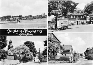 Ansichtskarte, Heinersdorf Kr. Lobenstein, vier Abb., 1965