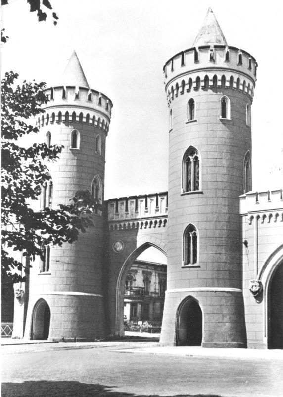 Ansichtskarte, Potsdam, Nauener Tor, 1966