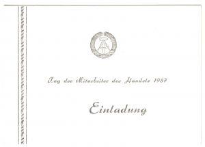 Rat des Kreises Arnstadt, Einladung zum