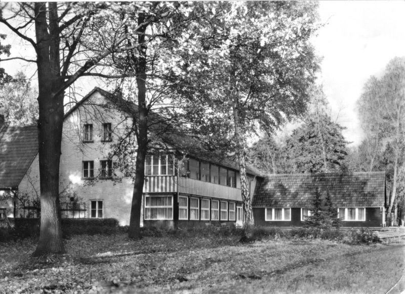 Ansichtskarte, Dolgenbrodt Kr. Königs Wusterhausen, FDGB-Heim