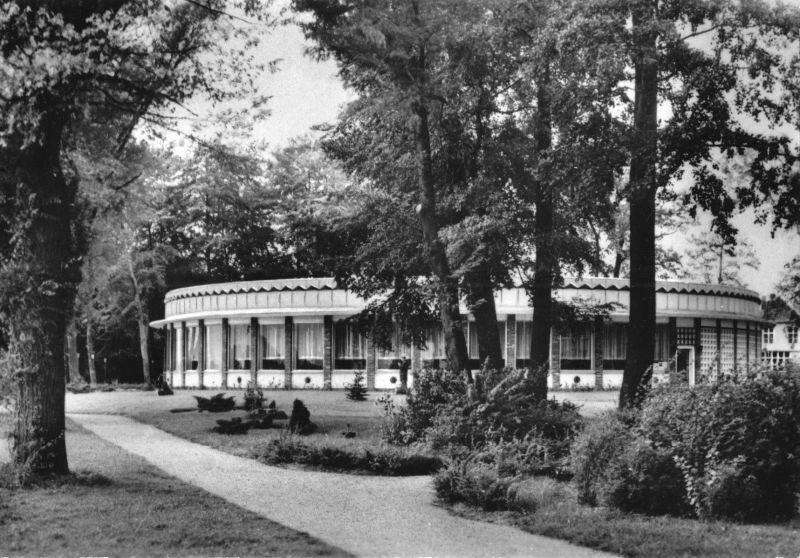 Ansichtskarte, Waren Müritz, Konsum Gaststätte