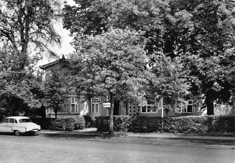 Ansichtskarte, Ostseebad Zingst Darß, FDGB-Erholungsheim Rammin, 1965