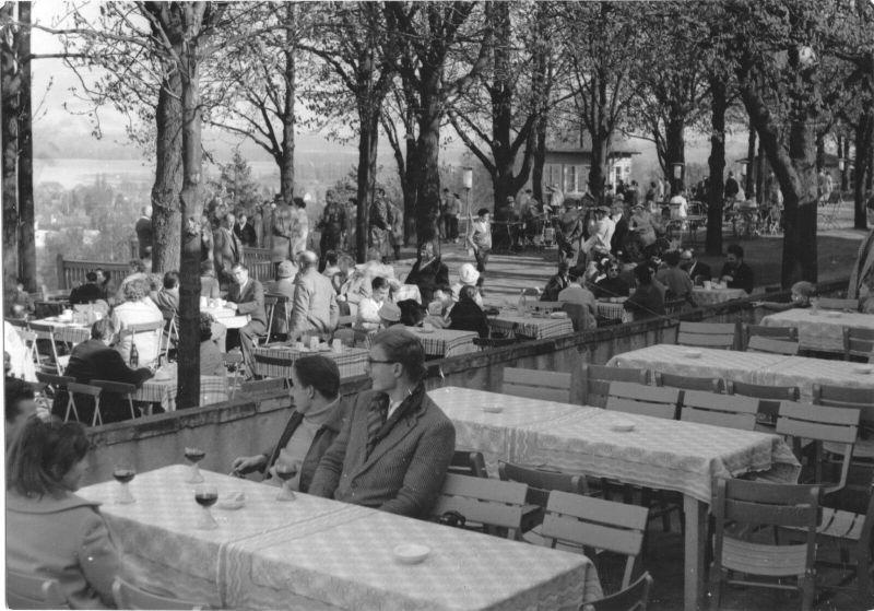 Ansichtskarte, Werder Havel, HO-Gaststätte