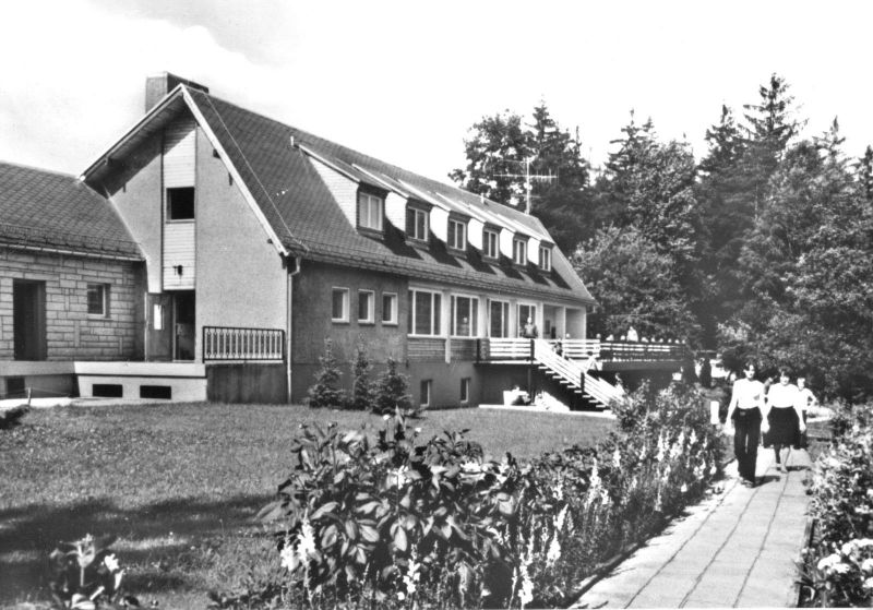 Ansichtskarte, Bad Schandau Ostrau Sächs. Schweiz, Ferienheim, 1982