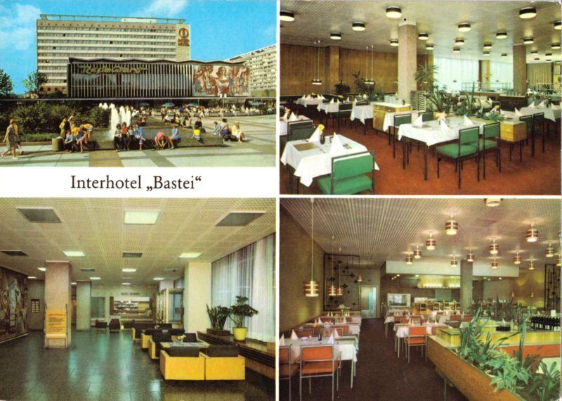 Ansichtskarte, Dresden, Interhotel