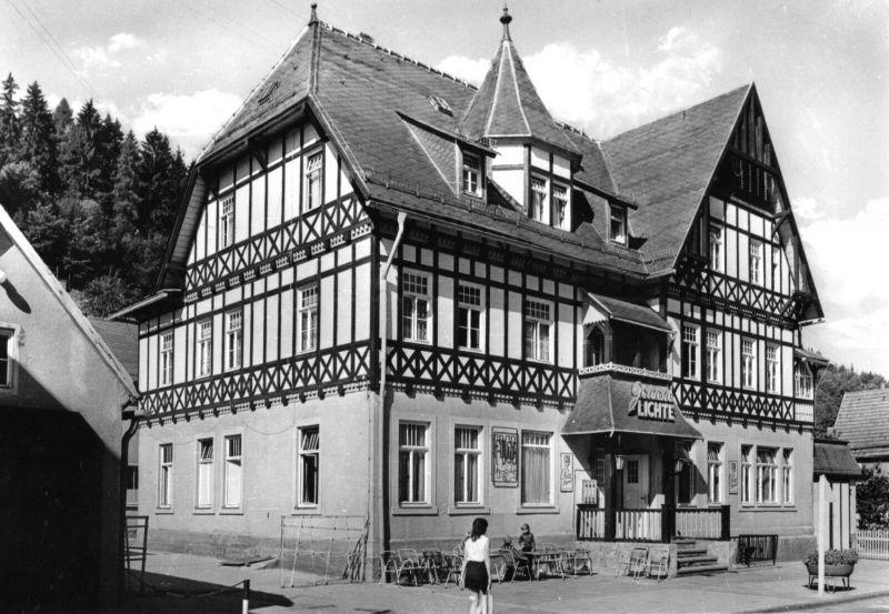 Ansichtskarte, Unterweißbach Thür. Wald, FDGB-Ferienheim