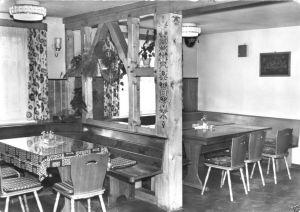 Ansichtskarte, Meimers Kr. Bad Salzungen, Gemeindegaststätte, Gastraum, 1979