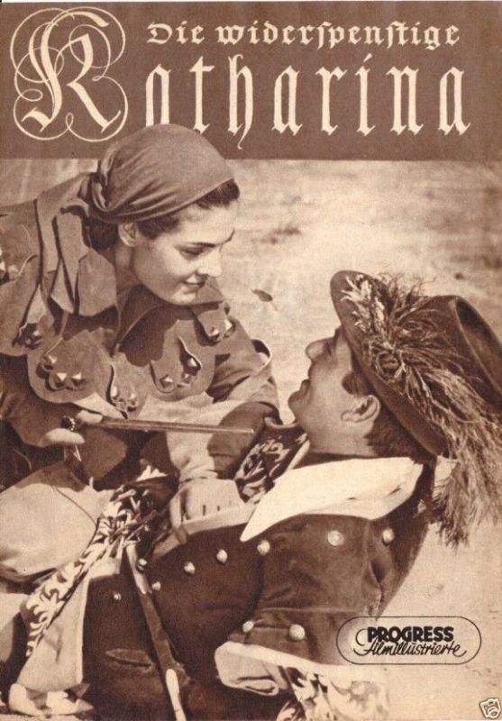 Progress Filmillustrierte, Die widerspenstige Katharina, 1957