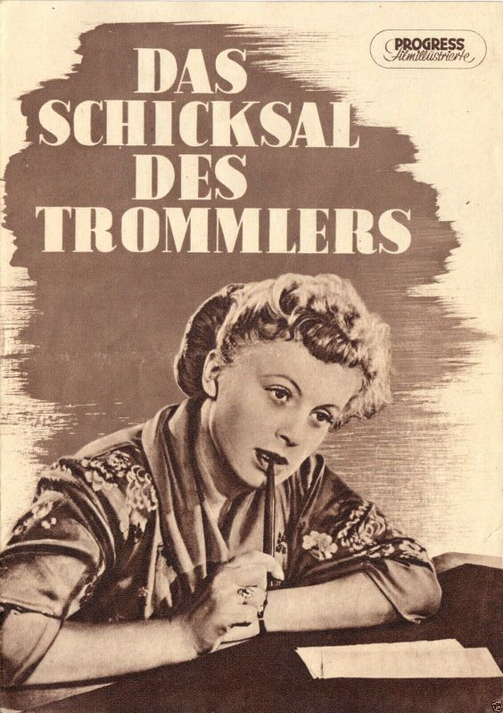 Progress Filmillustrierte, Das Schicksaal des Trommlers, 1956