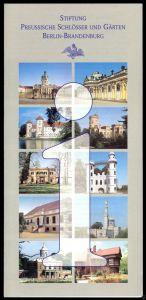 Prospekt, Siftung Preussische Schlösser und Gärten Berlin - Brandenburg, um 2000