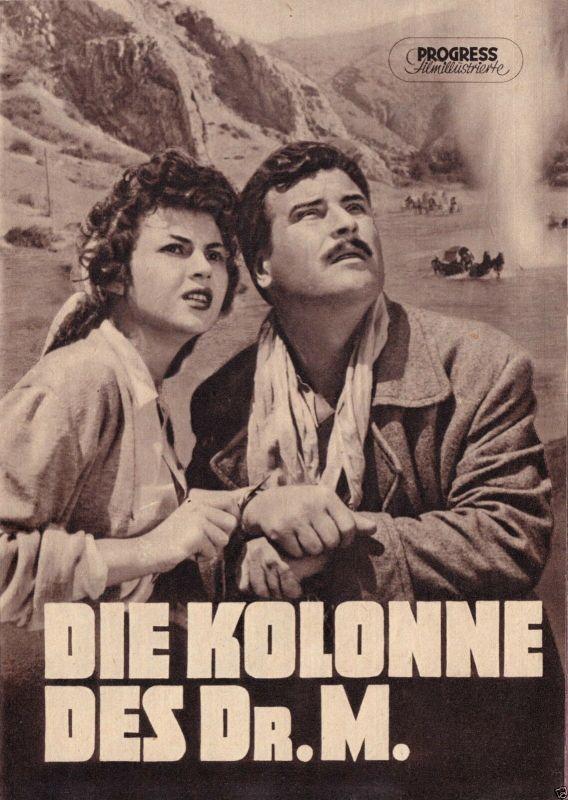 Progress Filmillustrierte, Die Kolonne des Dr. M., 1956